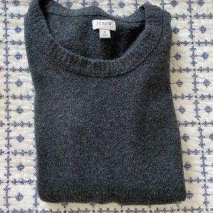 Super soft charcoal sweater J Crew